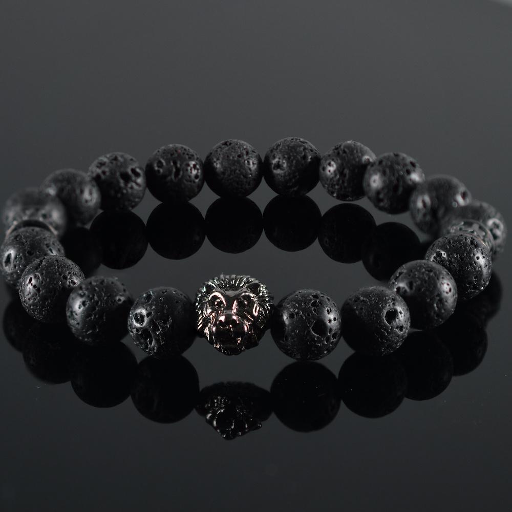 Leeuwenkop Armband heren Pauly-1