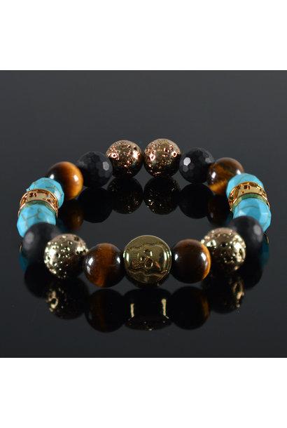 Kinder-Armband Nitesh Skull