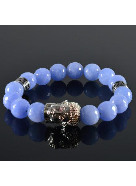 JayC's Ladies Bracelet Buddha Satina