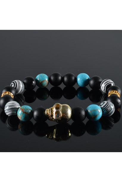 Men's bracelet  Loco Skull