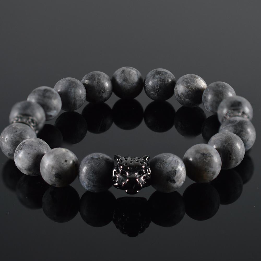 JayC's Bracelet men Grey Panther