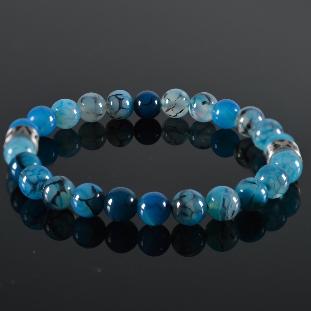 Armband heren Clear Blue-1