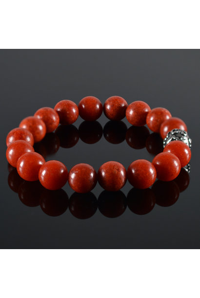 Herren  Armband Red Coral