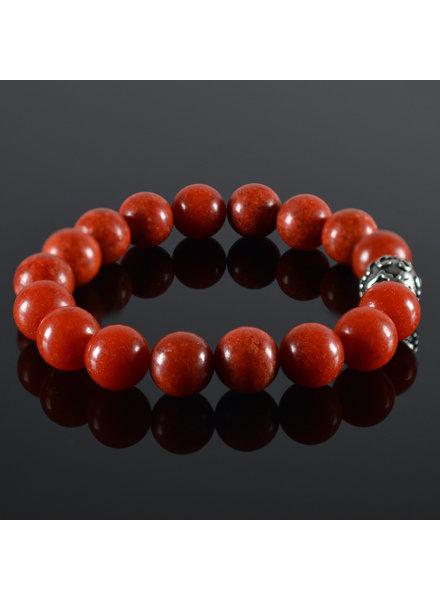 JayC's Men's bracelet Red Coral