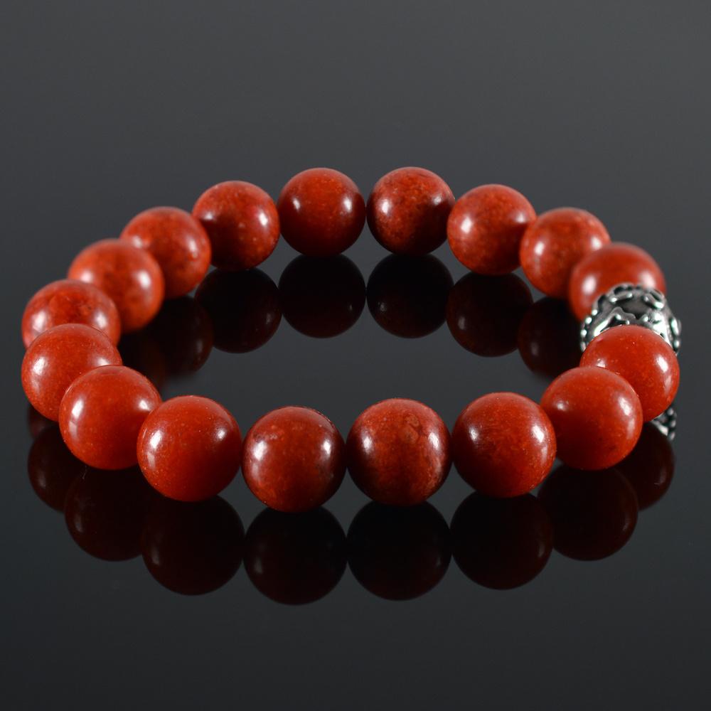 JayC's Bracelet men basic Red Coral