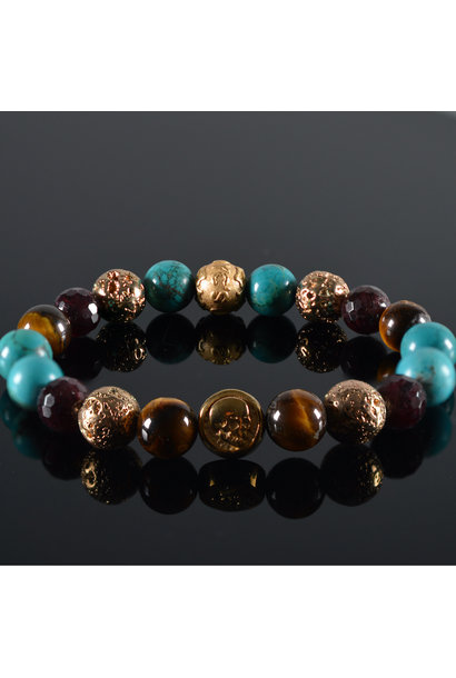 Men's bracelet Kintamani Skull