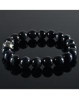 JayC's Men's bracelet Tiger-Eye darkblue