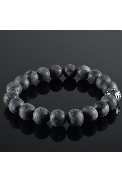 Men's bracelet Gris  Fonce Mat