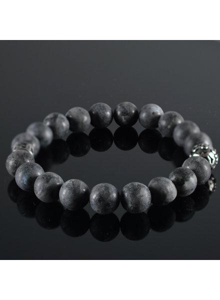 JayC's Men's bracelet Gris  Fonce Mat