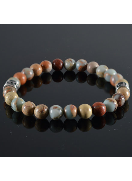 JayC's Men's bracelet   Earth