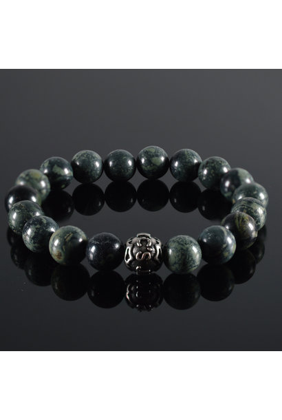 Heren armband Vert fonce II