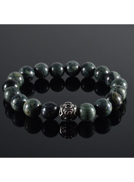 JayC's Men's bracelet Vert fonce II
