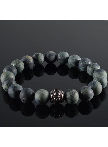 JayC's Men's bracelet Vert Fonce Mat