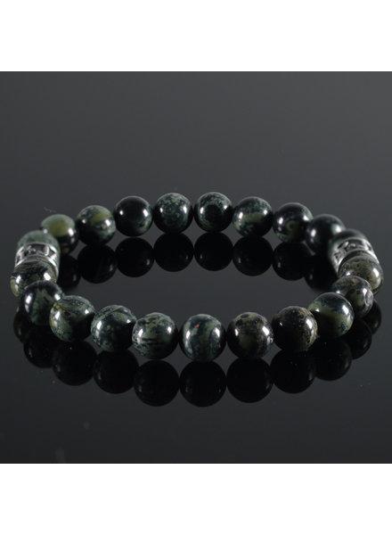 JayC's Men's bracelet Vert Fonce I