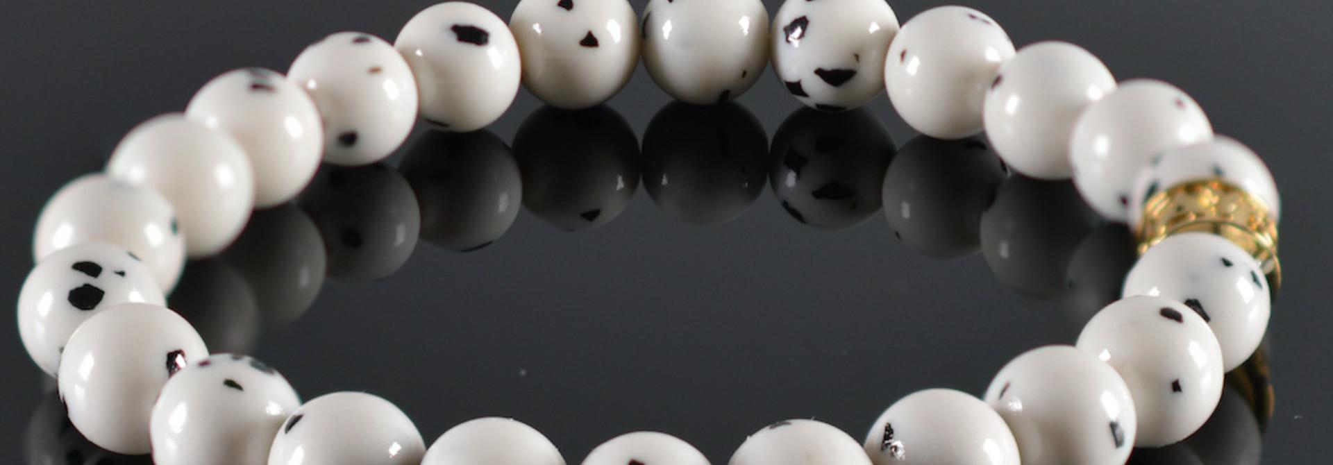 Armband dames JayC's  Black-White