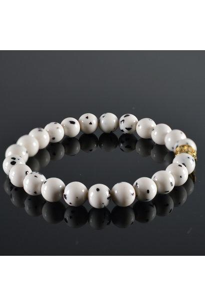 Ladies Bracelet  JayC's  Black-White