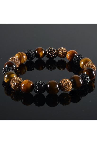 Men's bracelet Shamballa Tormenta II