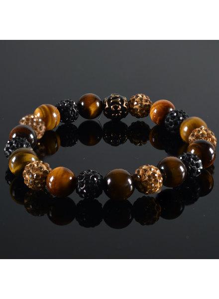 JayC's Men's bracelet Shamballa Tormenta II