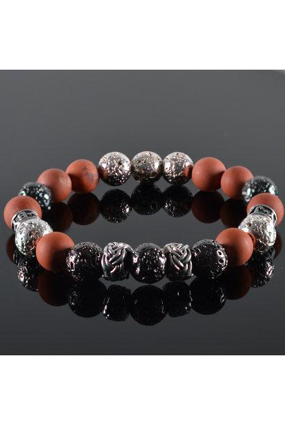 Men's bracelet Red