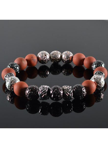 JayC's Men's bracelet Red