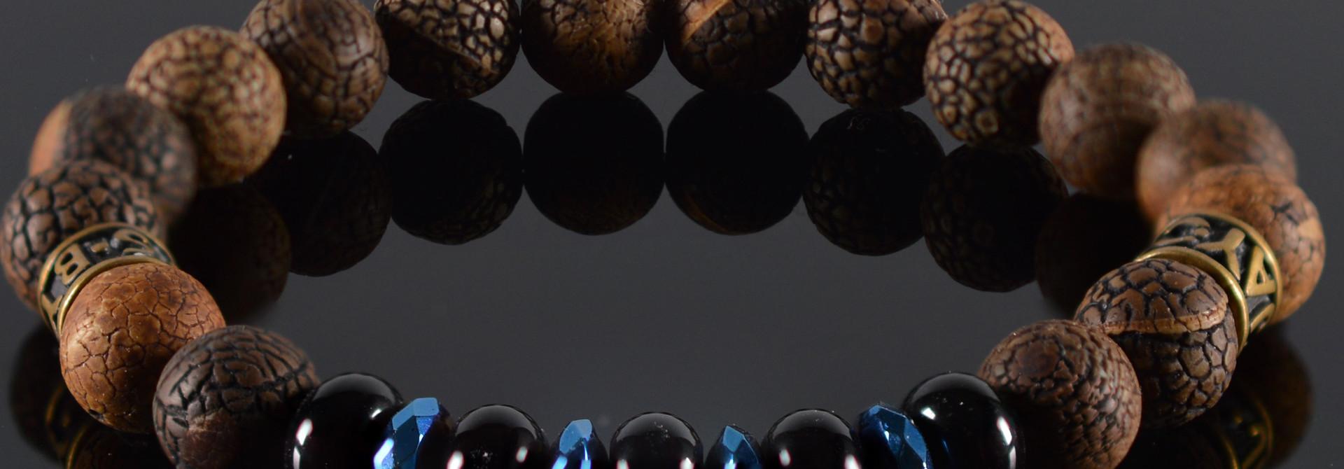 Armband heren Black Pearl