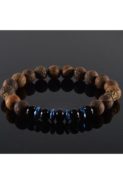 Men's bracelet Black Pearl