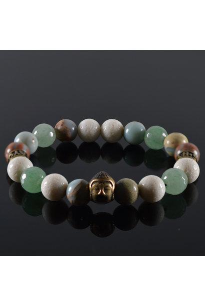 Men's Buddha bracelet Good Fellas