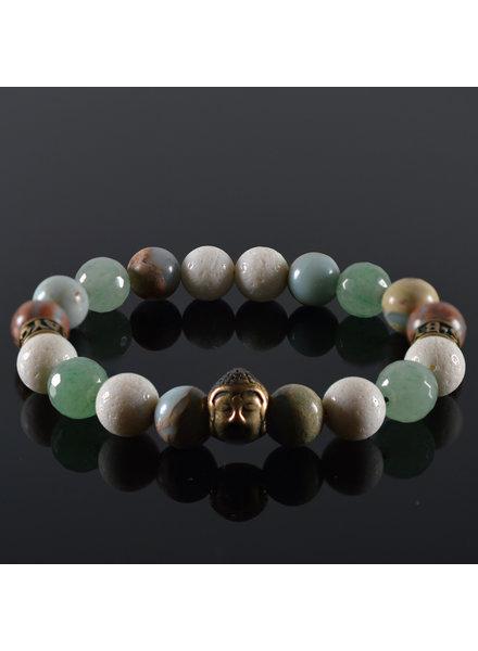 JayC's Men's Buddha bracelet Good Fellas