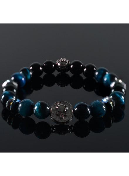 JayC's Men's bracelet Jimbaran Skull