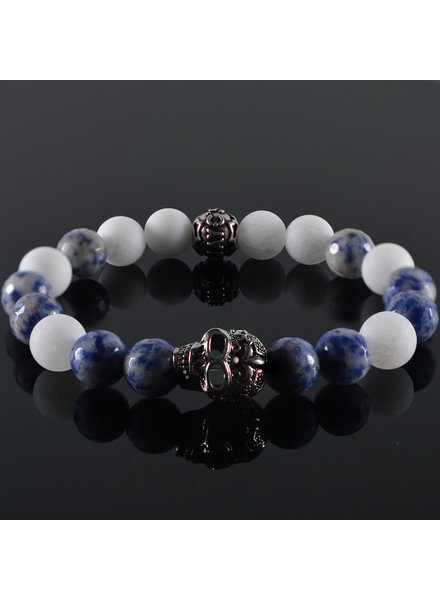 JayC's Men's bracelet Jangle Skull