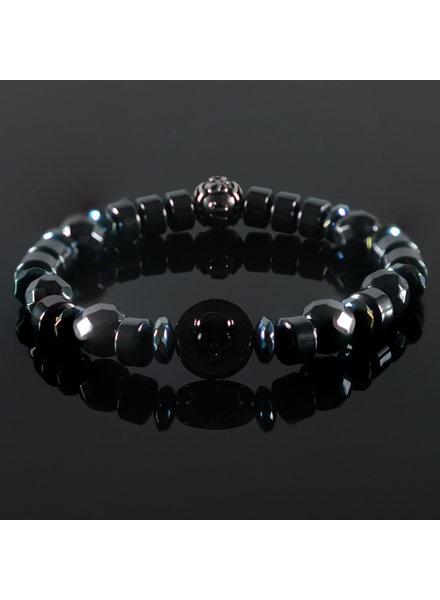JayC's Men's bracelet Lovina Skull