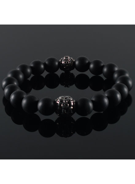 JayC's Men's Bracelet Doubt Skull
