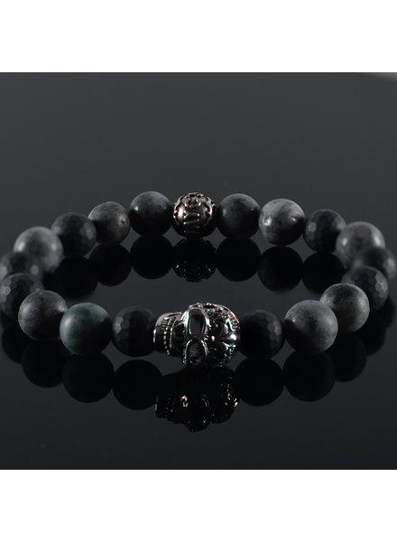 JayC's Men's bracelet Mc Queen Skull