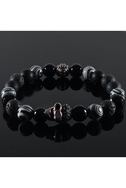 Men's bracelet Destino Skull