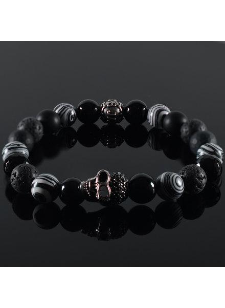 JayC's Men's bracelet Destino Skull