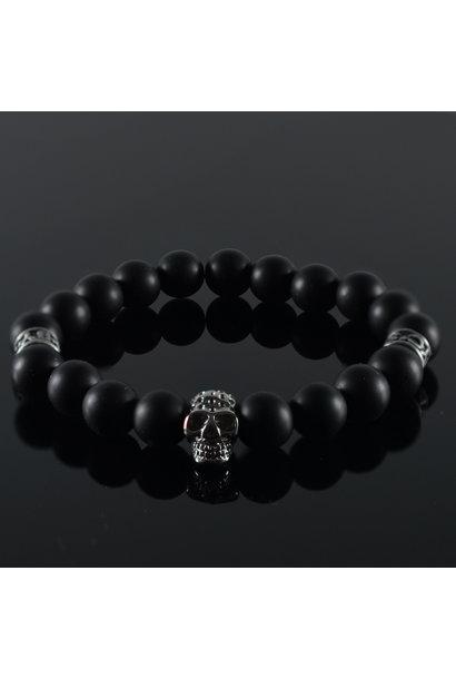 Herren  Armband Black Invite Skull II