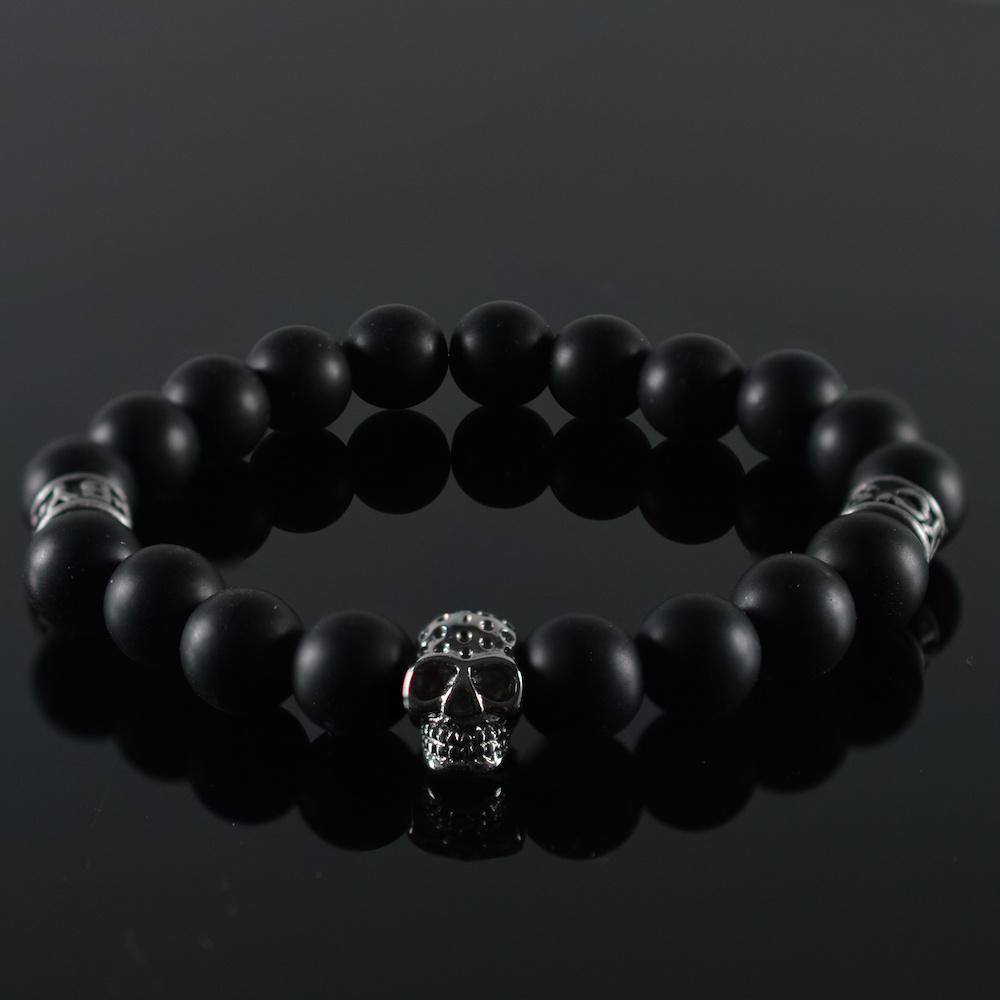 Armband heren Skull Black Invite II-1