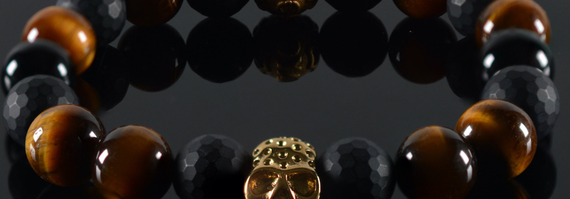 Armband heren Donald  Skull