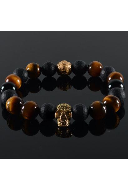 Men's bracelet Donald  Skull