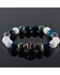 JayC's Men's bracelet Gregory Skull