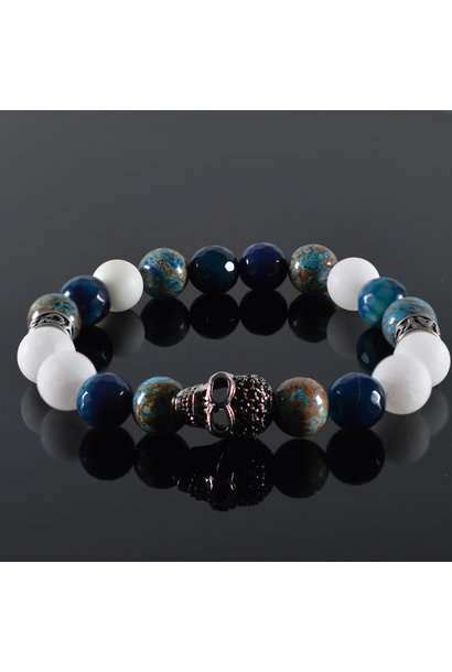 Men's bracelet Gregory Skull