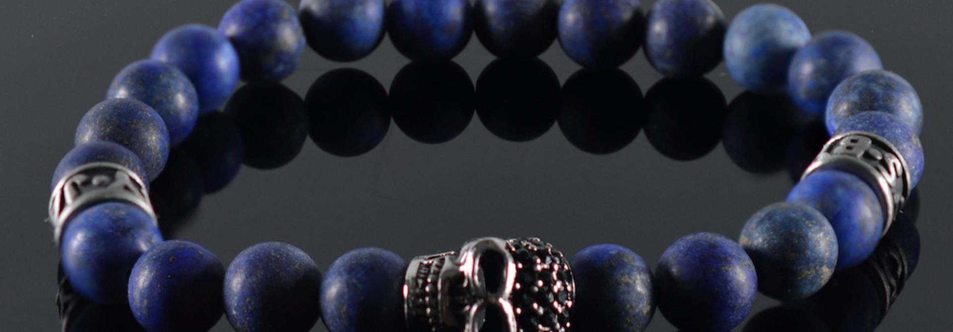 Armband heren Skull Funghi