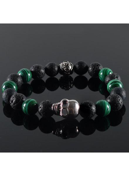 JayC's Men's Skull bracelet Olaiy