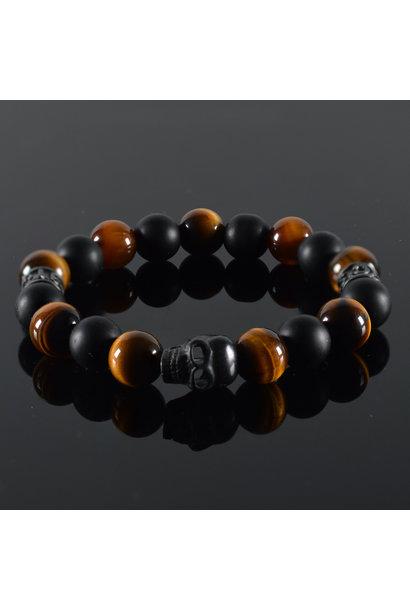 Men's bracelet Ombre Skull