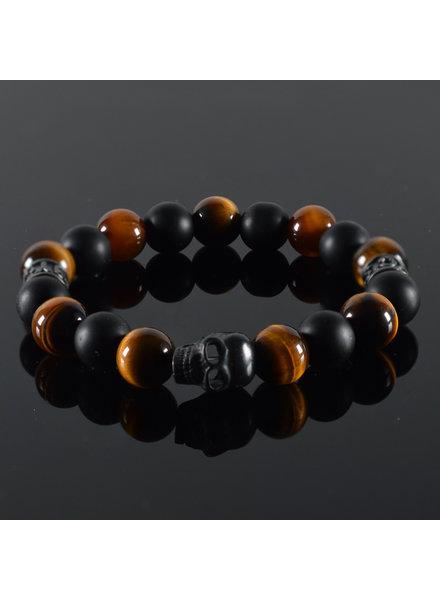 JayC's Men's bracelet Ombre Skull