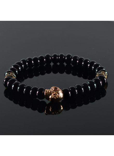 JayC's Men's Bracelet Touch the Sky Skull