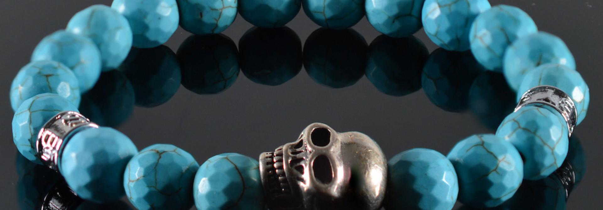 Armband Heren Pascalle Skull