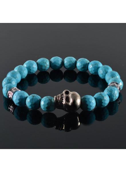 JayC's Men's bracelet Pascalle Skull