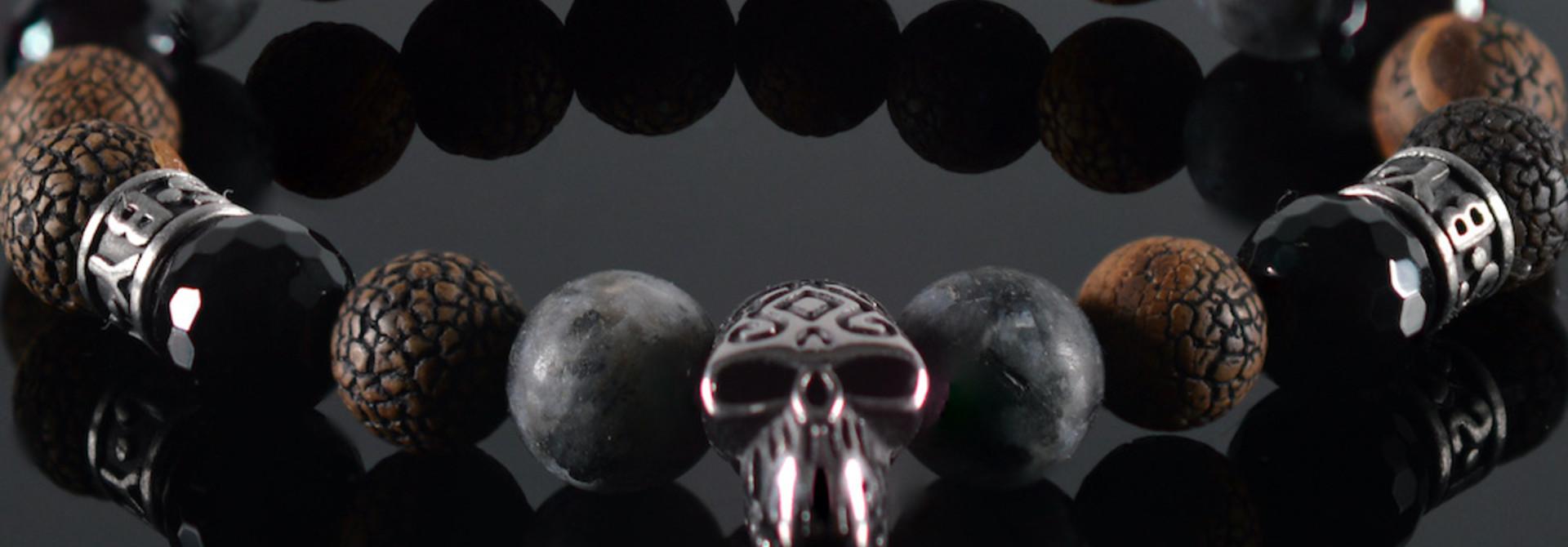 Armband heren  Sandro Skull