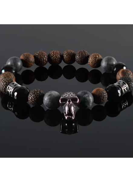 JayC's Men's Bracelet  Sandro Skull